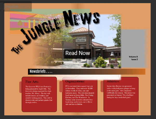 Winter 2020 Issue of Jungle News