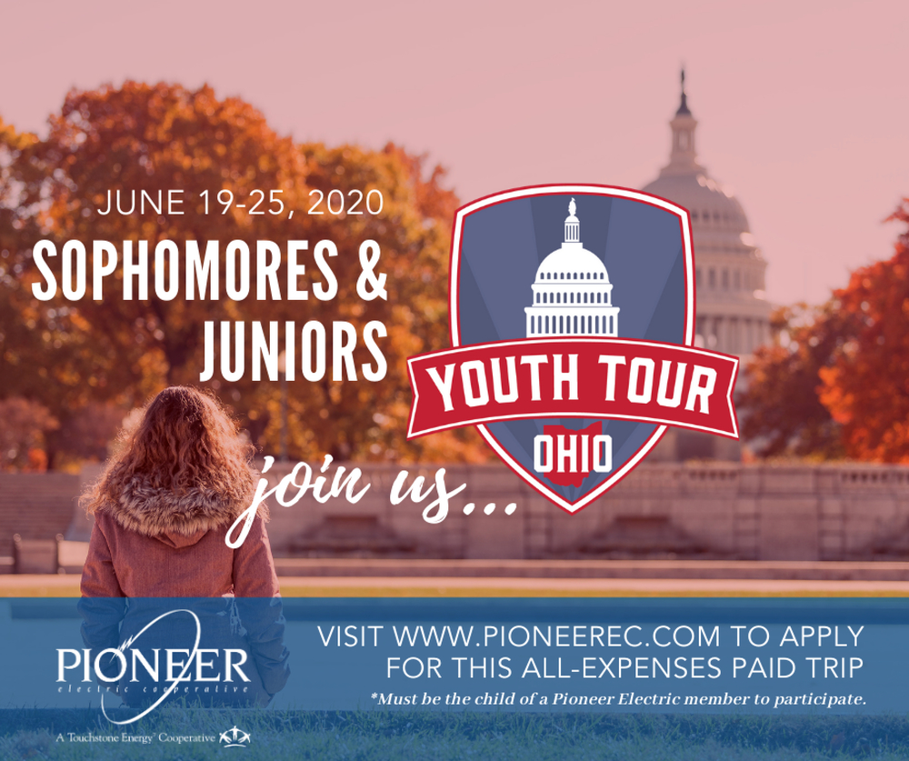 Pioneer Electric Youth Tour Opportunity