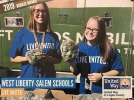 West Liberty-Salem Earns United Way Bronze Award