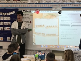 Physics Students Teach a Fun STEM Activity to First Graders
