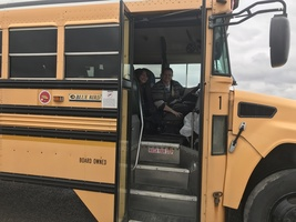 Food Service and Transportation Team up to Provide Student Lunch