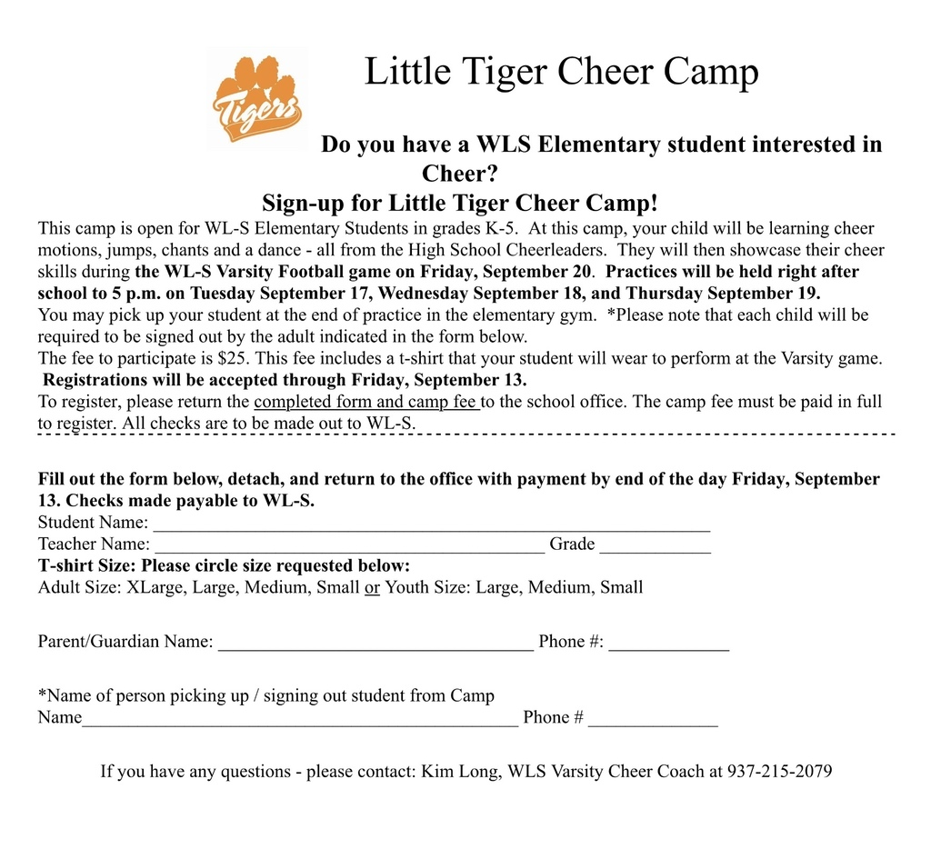 Little tiger cheer